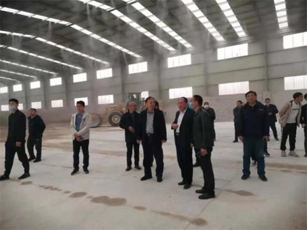 东阿县组织建材企业赴外地观摩学习扬尘治理工作