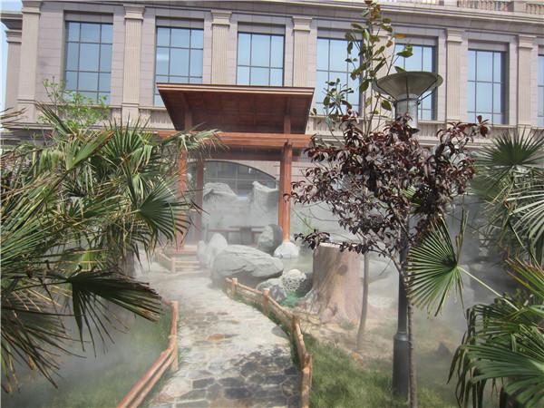 人造雾技术在景观领域应用吗?小编带你了解!