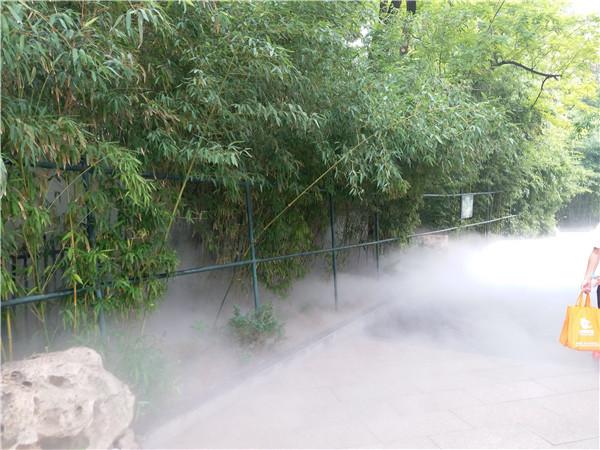 动物园做的景观喷雾
