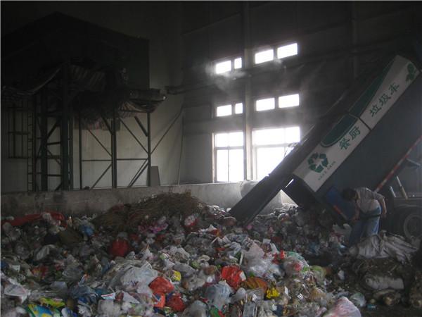 燕山垃圾处理厂-降尘除臭喷雾降尘