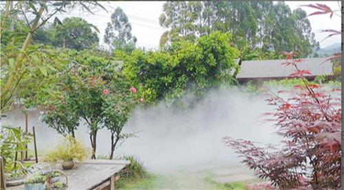 如何制造漂亮美观的雨雾呢?