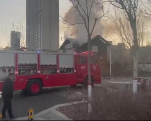 火灾现场没有人员被困