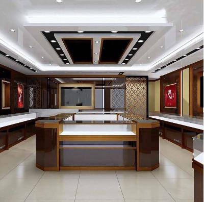 西安烤漆珠宝展柜