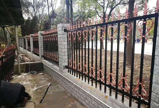 四川锌钢铁艺围栏