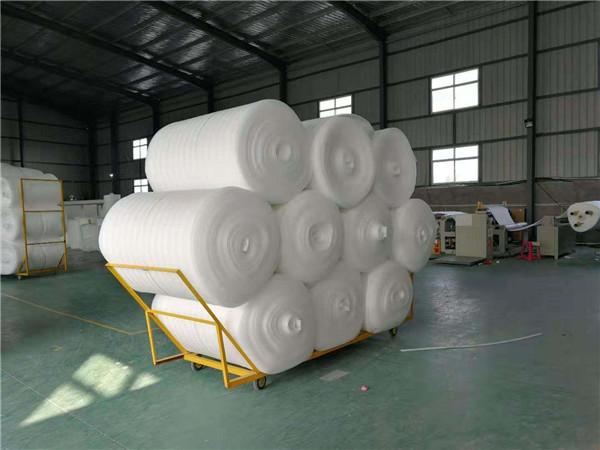 西安epe珍珠棉卷材生产场景