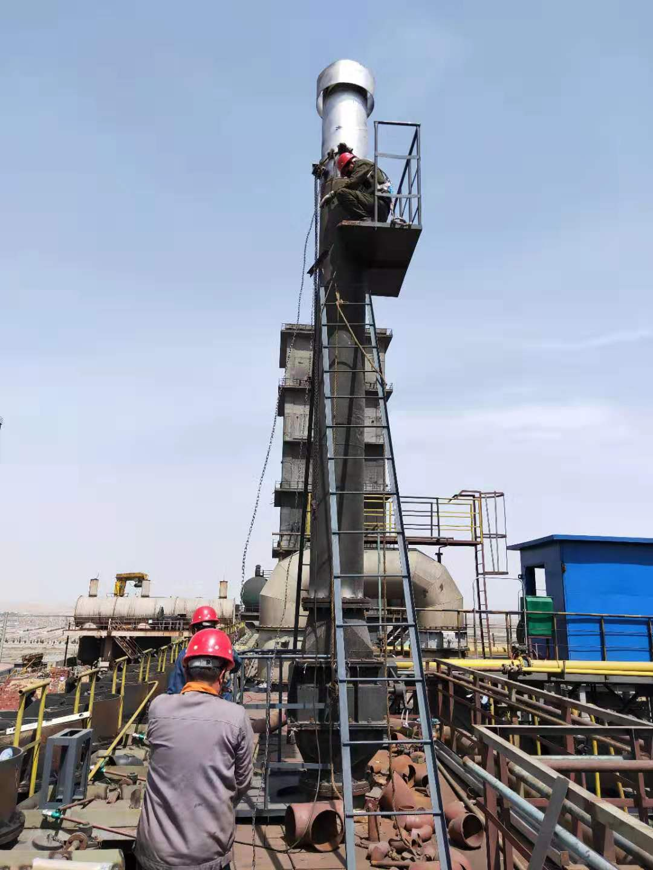 荒煤气放散火炬系统施工案例