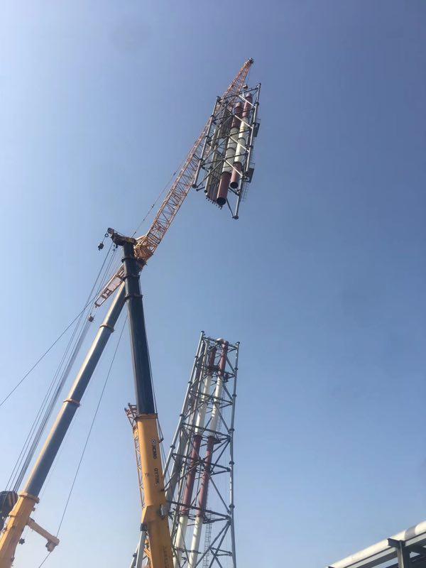 高架火炬施工