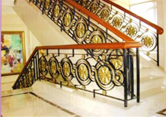 西安鐵藝樓梯設計