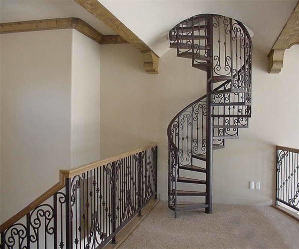 西安某公寓樓梯扶手