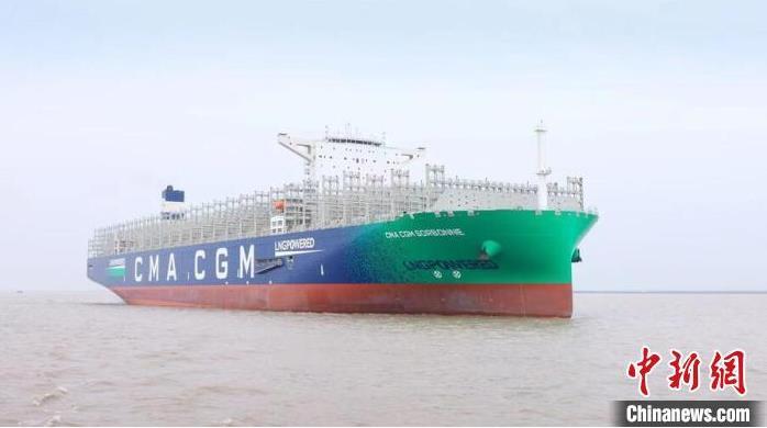 一月交一艘 全球.大雙燃料集裝箱船建造項目收官
