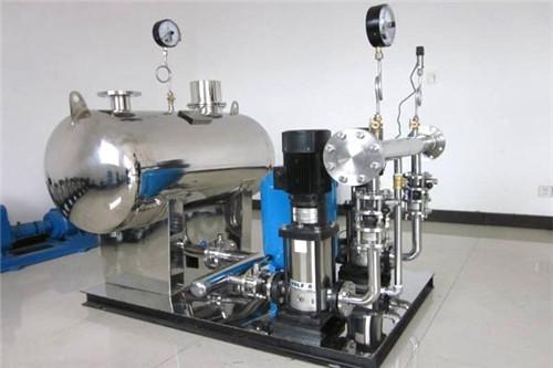 无负压供水设备安装及工作原理分析!