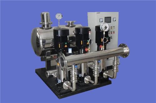 无负压供水设备应用中的难题!