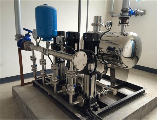 高层住宅供水机器设备的基本基本原理