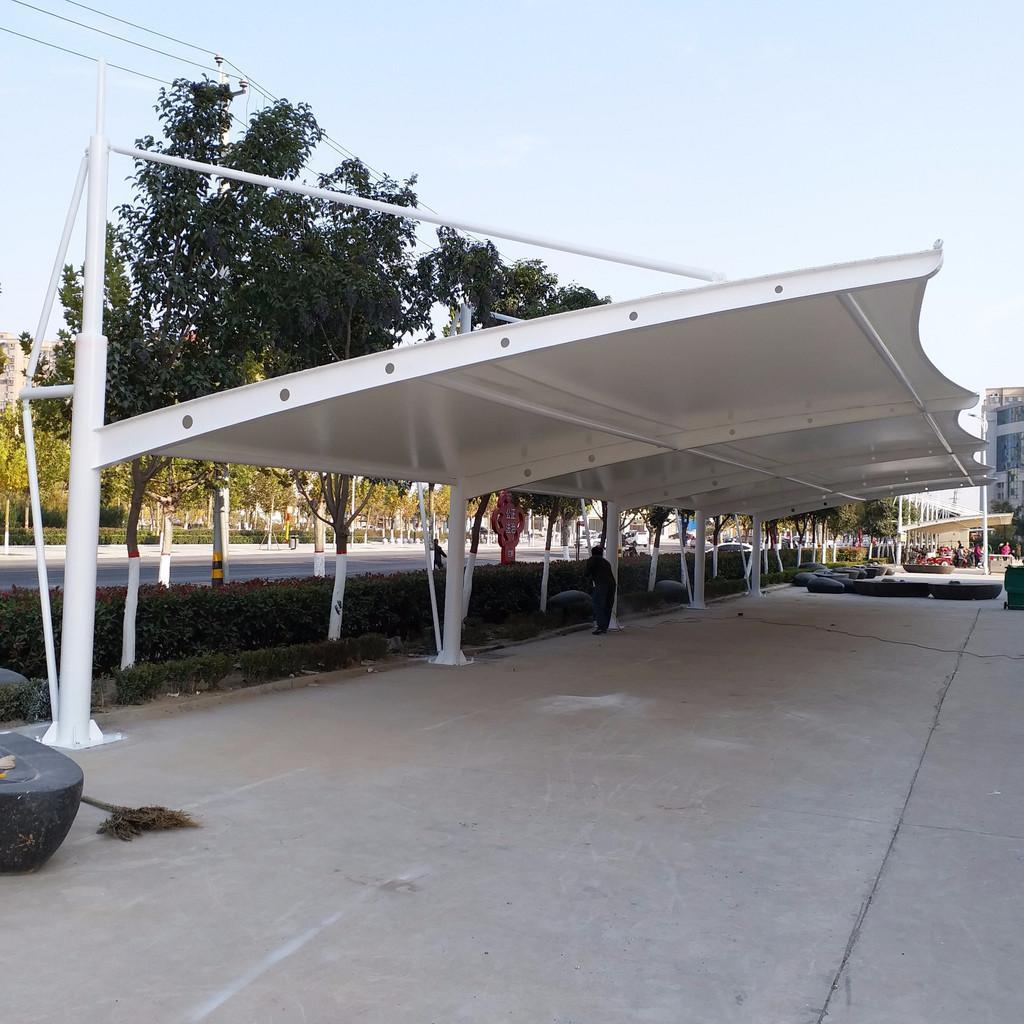 四川膜结构车棚为何如此受欢迎?
