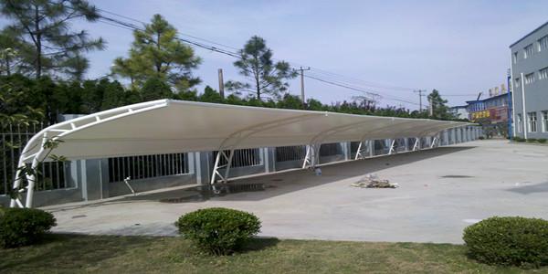 四川膜结构车棚的外貌特点