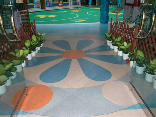 环氧彩片型地坪系统