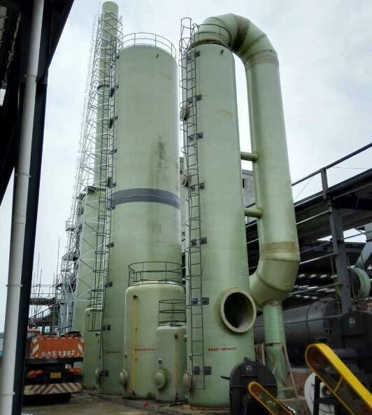 兰州玻璃钢脱硫塔_兰州脱硫塔厂家