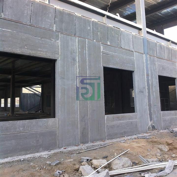水泥陶粒混凝土空心条板施工案例