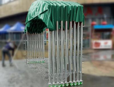 西安推拉雨棚