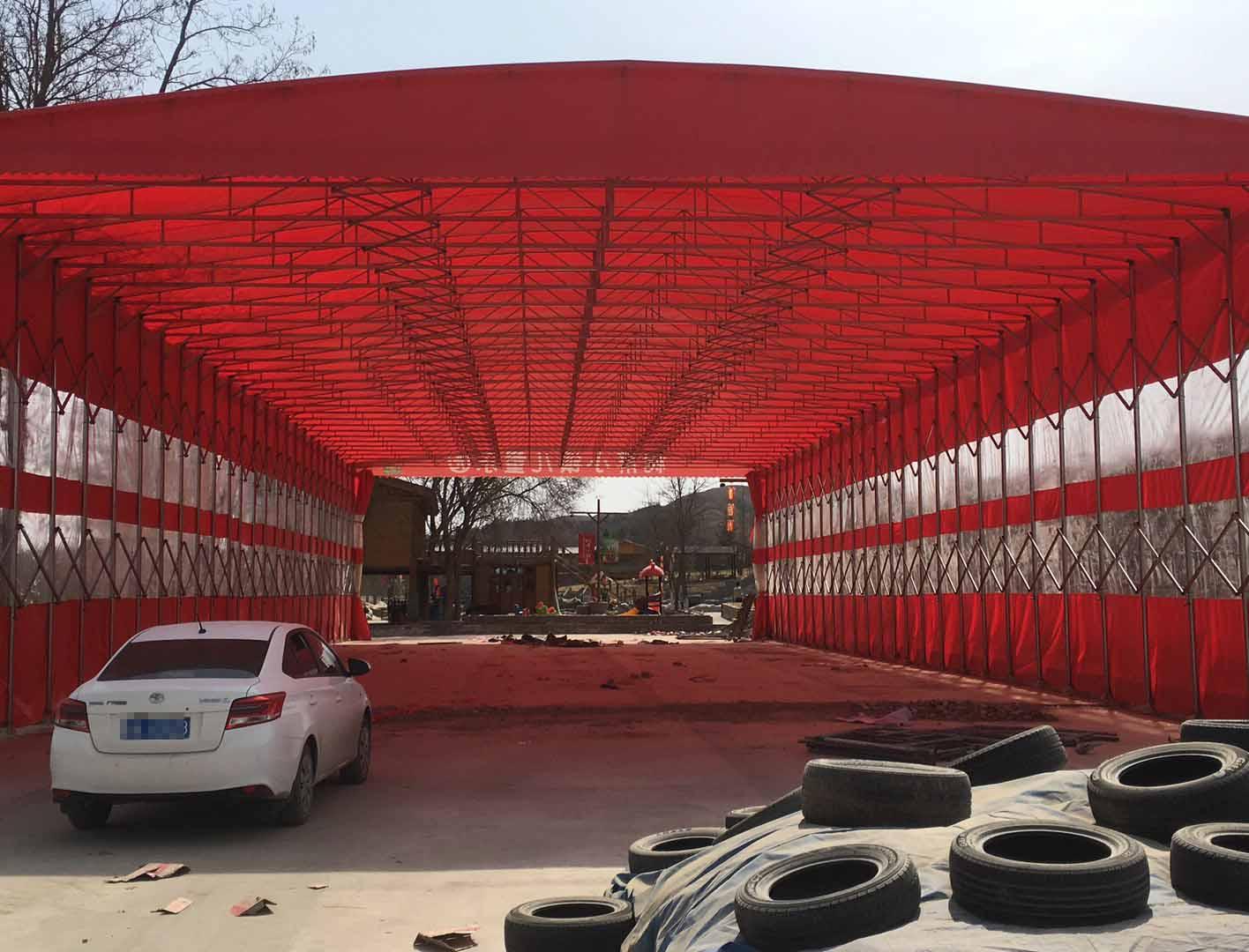 西安移动式雨棚厂家