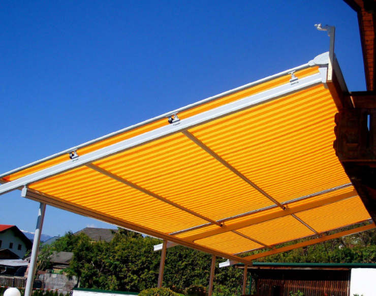 西安铝合金雨棚