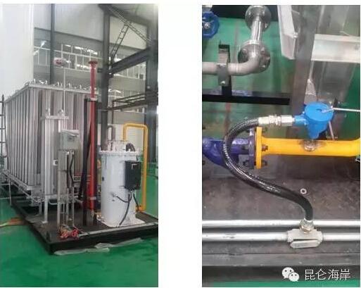 LNG供气环节温度的节能管理