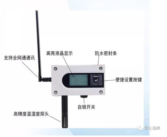 昆仑海岸NB-IoT无线传感器精品推荐