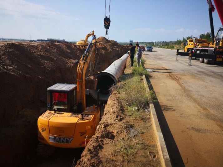 国家电网榆林高新区电力管廊项目
