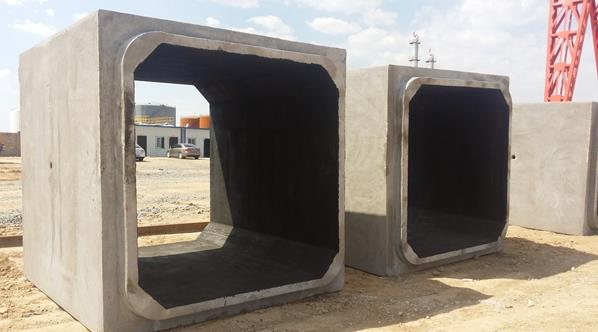高精度钢筋混凝土预制方涵构件制作的工艺方法