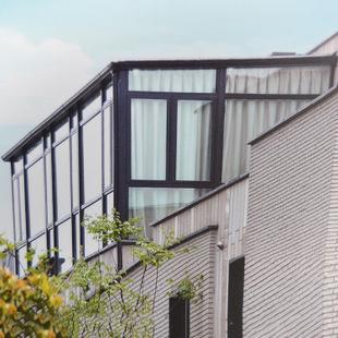 铝合金定制断桥铝楼顶阳光房