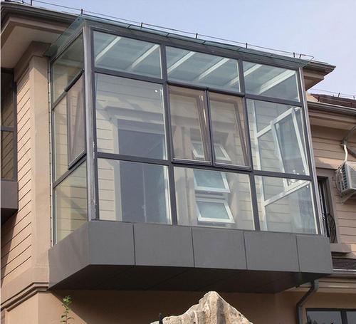 唐山别墅花园露台钢构阳光房