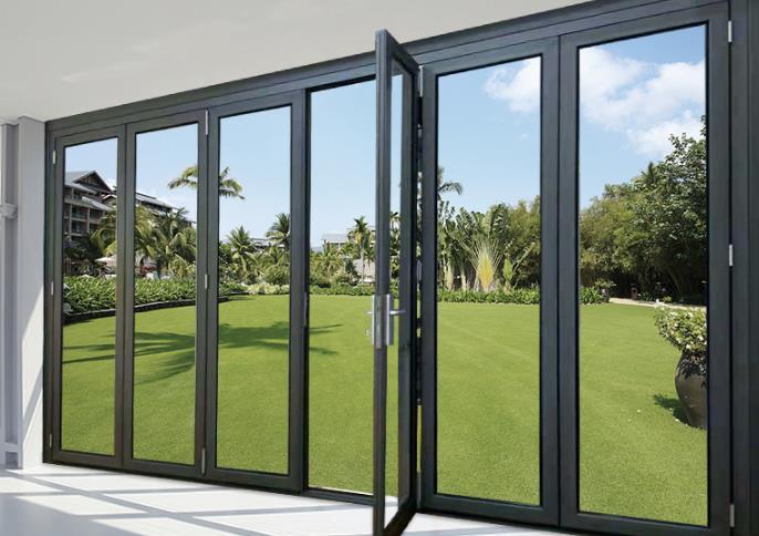 现代简约玻璃移门隔断客厅阳台定制重型推拉门