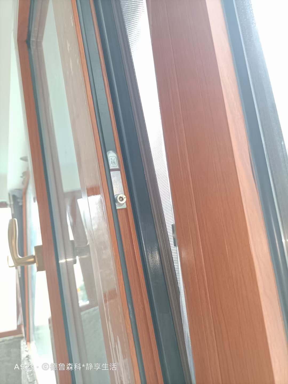 铝合金门窗断桥铝隔音平开上悬窗