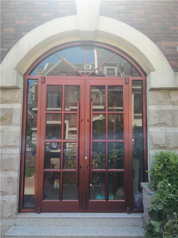 肯德基门厂家订做汉堡店门商务门服装店商铺大门玻璃门店铺定制门