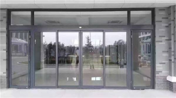 肯德基门铝合金推拉对开进户麦当劳餐厅门感应门玻璃门厂家订制