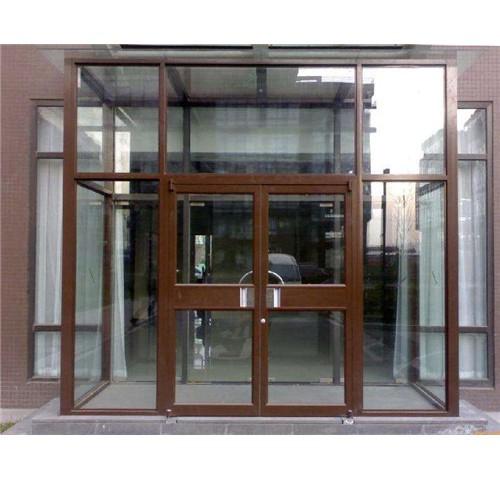 肯德基门厂家订做铝合金推拉门店铺门酒店门