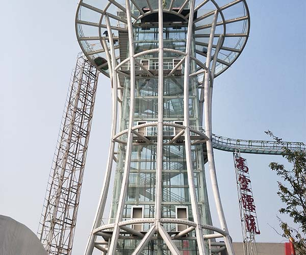 西安电梯玻璃安装