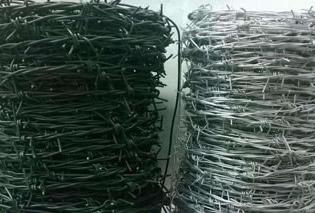 带刺铁丝网