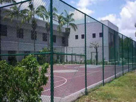 篮球场围栏网案例