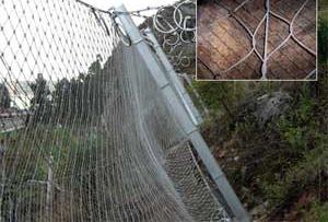 与您分享成都边坡防护网的加固措施方法