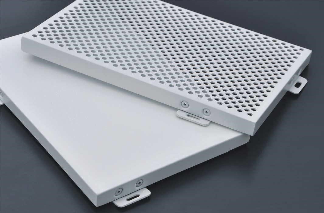 铝单板喷涂案例
