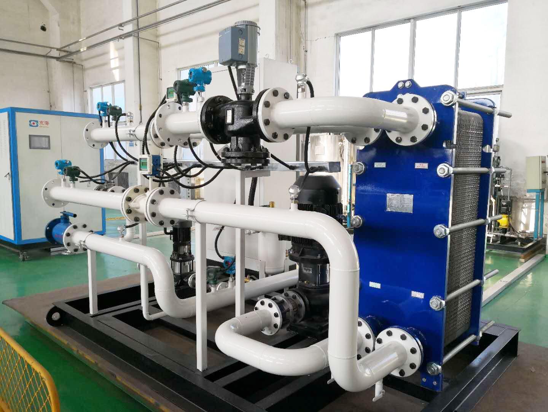 换热站节能控制系统的组成与功能特性分析