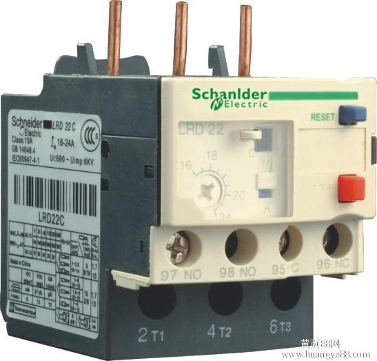 施耐德热继电器LRD