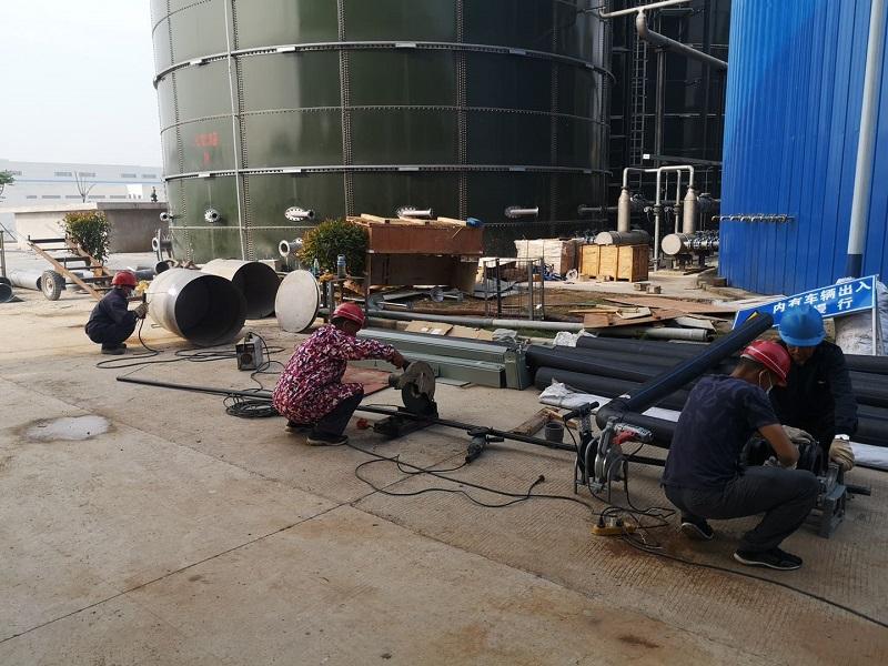 三峡制药猇亭分厂高钙废水yabo2022系统安装施工