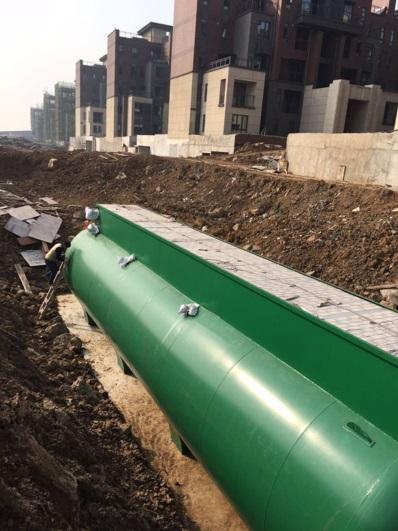 武汉青山项目一期(海伦国际)污水yabo2022工程