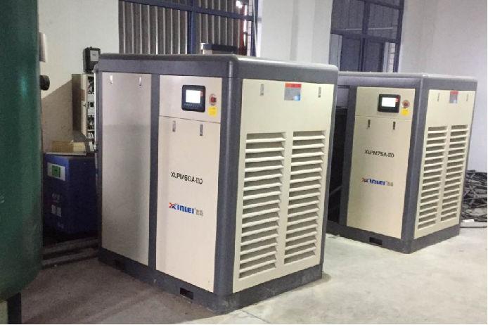 东音泵业空压机案例