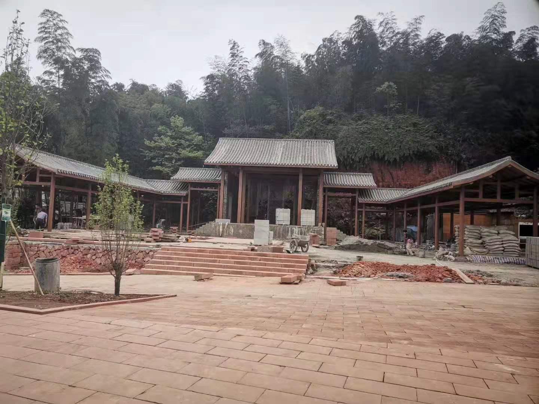 蜀南竹海风景区工程案例。