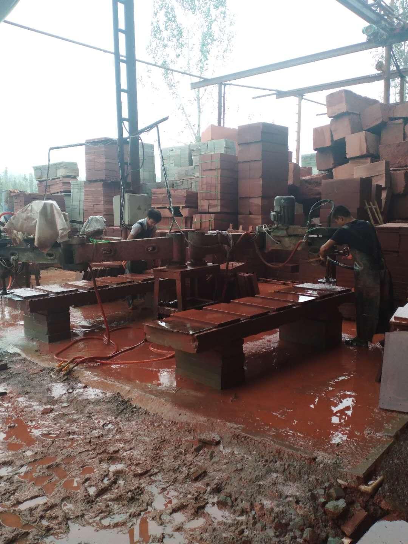 四川紅砂石磨光機生產基地