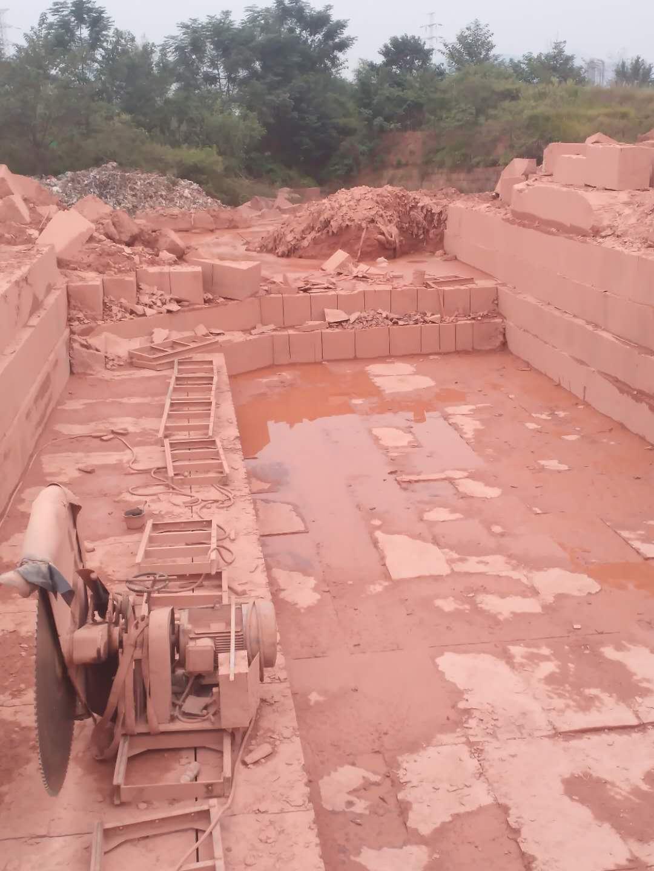 红砂石矿山基地