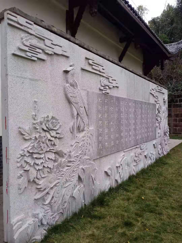 四川青砂石工程雕刻案例
